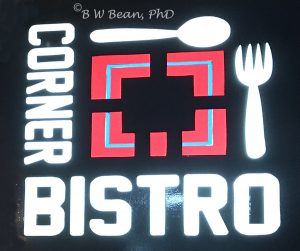 Corner Bistro Chiang Mai Sign
