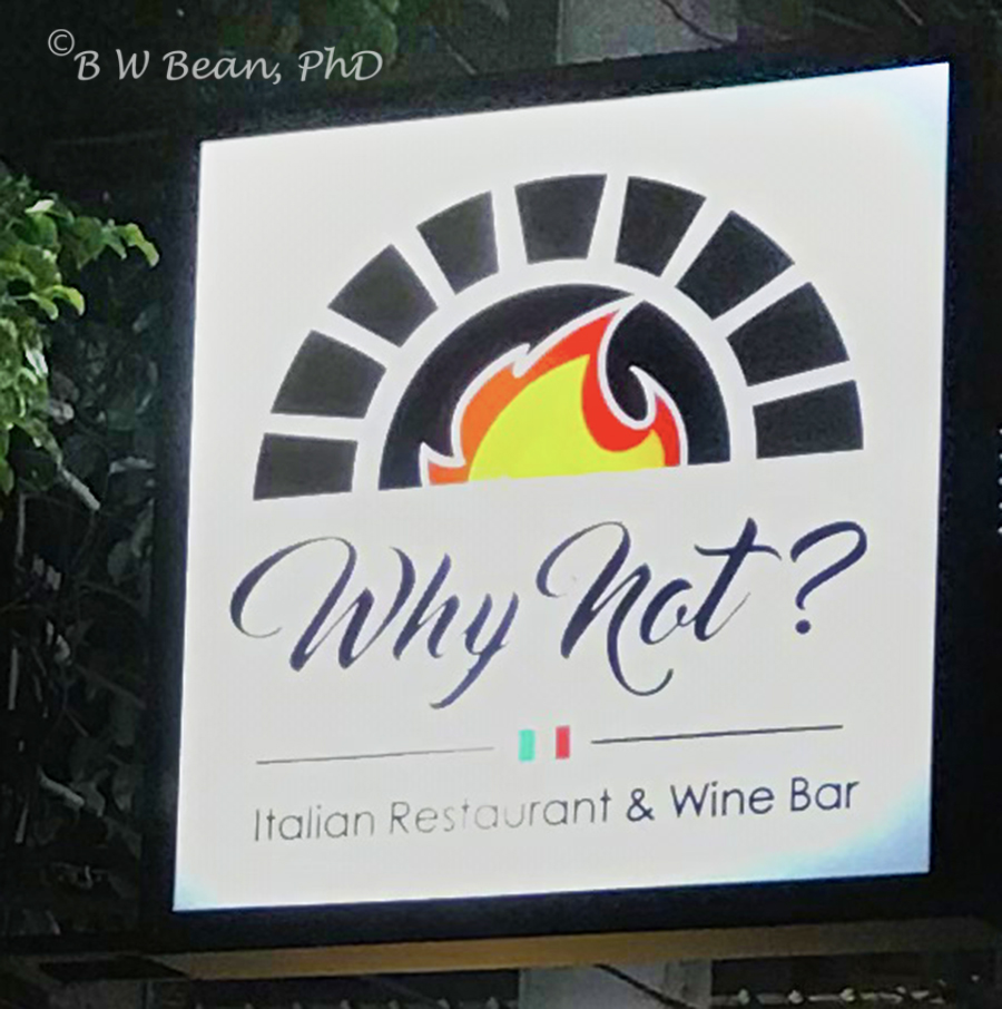 ITALIAN DINING IN CHIANG MAI?  WHY NOT?