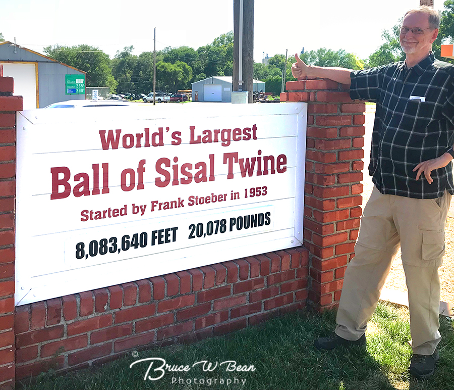 WORLD'S LARGEST BALL OF TWINE - OFF THE BEATEN TRACK
